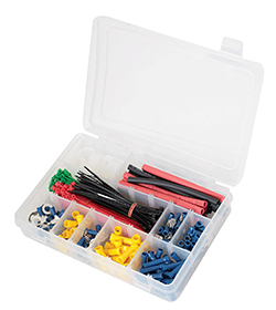 Get wiring over winter — electrical connector and heat shrink tubing kits from Gunson