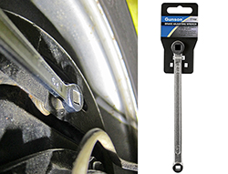 Classic brake adjusting wrench from Gunson fits many types of vehicle