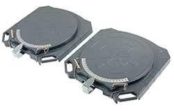 New lightweight aluminium steering turntables