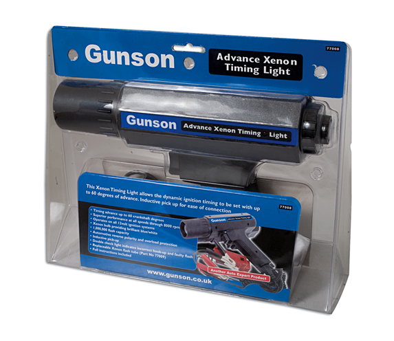 Packaging image of Gunson | 77008 | Timing Light with Advance Feature