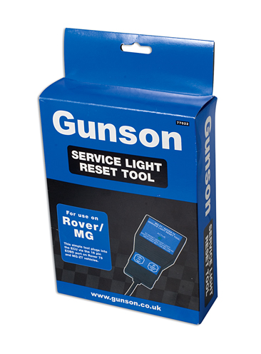 Packaging image of Gunson | 77022 | Service Reset Tool - Rover