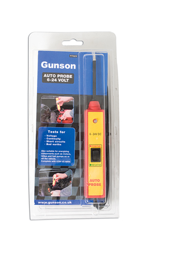 packaging image of Gunson | 77023 | Auto Probe 6-24 volt