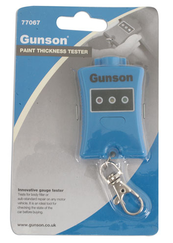 PACKAGING image of Gunson | 77067 | Paint Thickness Tester