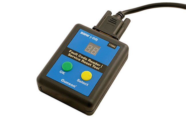 Laser Tools 77083 BMW Code Reader & Service Reset Tool