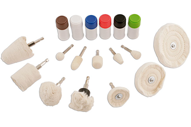 image of Gunson | 77097 | Polishing Kit - 18pc