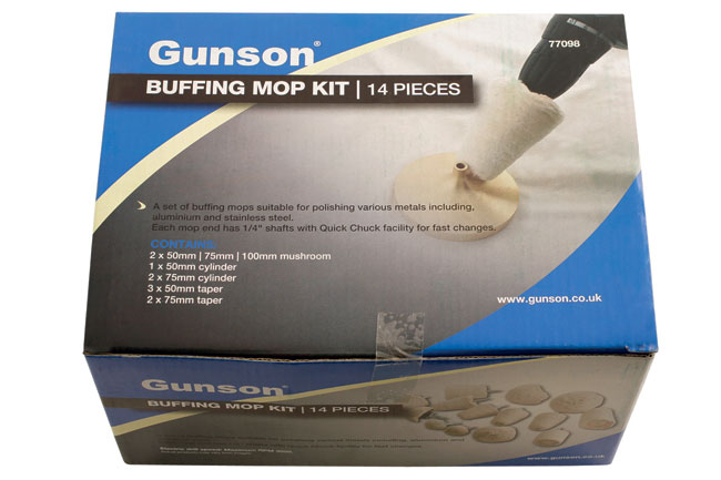 ~/items/xlarge/Packaging image of Gunson | 77098 | Buffing Mop Kit - 14pc