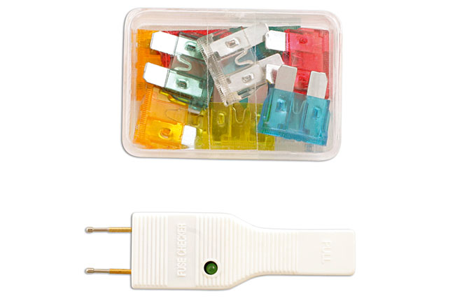 Car Fuse Box Tester : Auto fuse and tester kit pc part no of