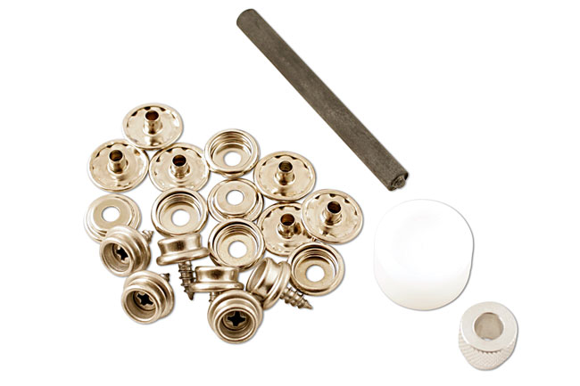 Left image of Gunson | 77116 | Press Stud Repair Kit - 15pc