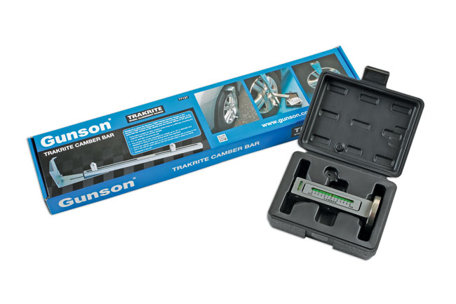 ~/items/xlarge/Packaging image of Gunson | 77141 | Trakrite Camber Gauge & Bar