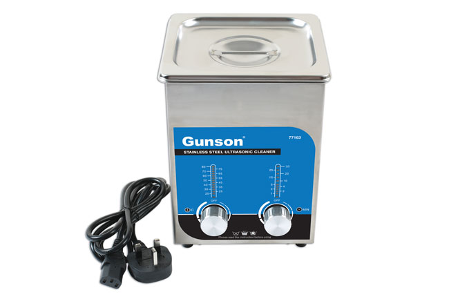 ~/items/xlarge/ image of Gunson | 77163 | Stainless Steel Ultrasonic Cleaner