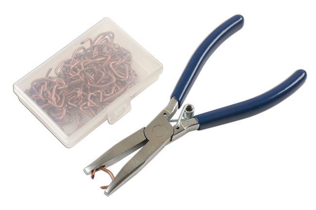 77164 Hog Ring Plier Set