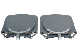 Product Image of Gunson Steering Turntables - Aluminium  4000kg (Pair) Part No. 77158