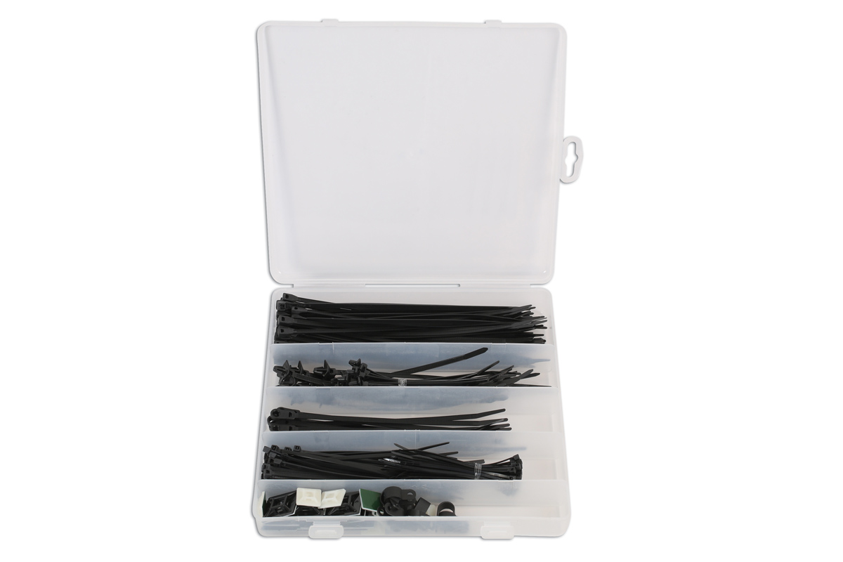 Cable Tie Kit 210pcs | Part No. 77140 | Part of the Workshop range ...