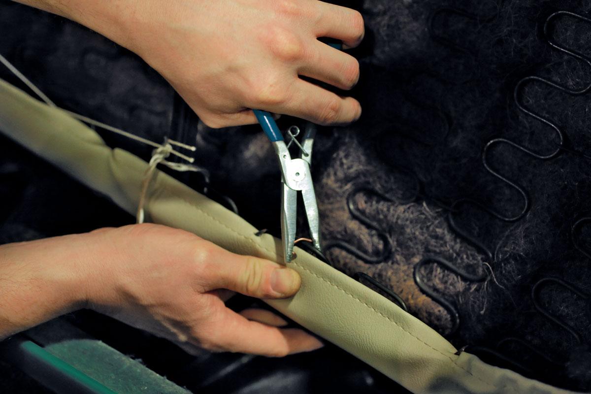 Gunson 77128 Hog Ring Pliers-Idéal pour siège de réparations pour voitures classiques